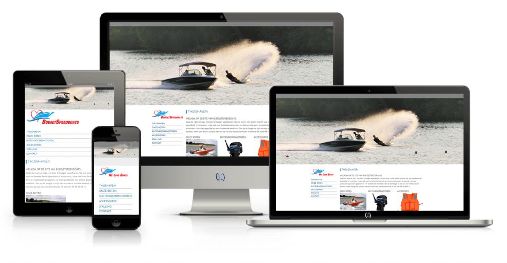 Fabries webdesign Budgetspeedboats