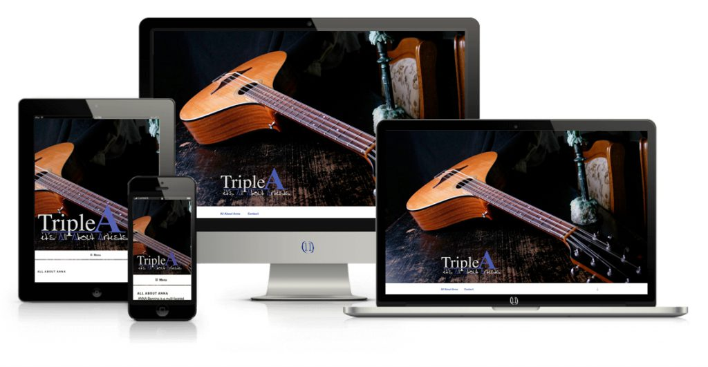 Fabries webdesign TripleA